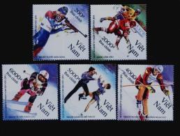 Vietnam Viet Nam MNH Perf Stamps 1992 : Winter Olympic Games Albertville / Ice Hockey (Ms635) - Vietnam