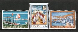 Grecia 1969. Yvert 977-79 ** MNH. - Greece