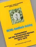 Deutsches Reich Plattenfehler MlCHEL Handbuch 2001 Neu 78€ Deutschland Kaiserreich Brustschilder Special Catalog Germany - Phonecards