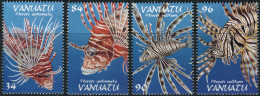 Vanuatu 1999. Michel #1092/95 MNH/Luxe. Fishes. (B46) - Fishes