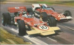"John ""Hans"" Hugenholz Designer Of Formula1 Racing Circuits  Jochen Ridt Lotus Jacky Ickx Ferrari - Autografi"
