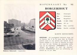 Wapenkaart Nr 96 Borgerhout Moderne Urbanisatie Lippenslaan ( Met Wapenschild ) - Antwerpen