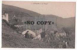CONQUES   -   Vue De L'OUEST - France