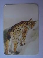 1 CALENDAR CALENDARIO CALENDRIER KALENDER SMALL - ANIMAL LINCE LYNX BOBCAT ONCE