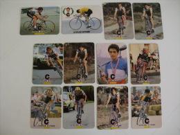 Cycling/Cyclisme Complete Set of 12 Portugal  Portuguese Pocket Calendars 1985