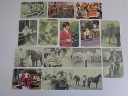 Cycling/Cyclisme Joaquim Agostinho Complete Set of 16 Portugal  Portuguese Pocket Calendars 1988