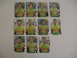 Cycling/Cyclisme Porta da Ravessa Milaneza Complete Set of 11 Portugal  Portuguese Pocket Calendars 1999/2000