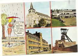 62  AUCHEL      ALLO  ICI    AUCHEL   TEMPS FORMIDABLE  PAS UNE GOUTTE D  EAU DEPUIS  1900.  (.4 VUES ) - France