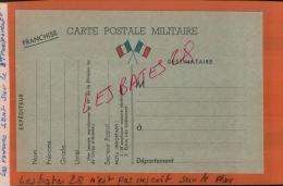 CARTE POSTALE MILITAIRE  Militaria   FRANCHISE  De 1939   MAI  2015  SAL 1139 - Marcophilie (Lettres)