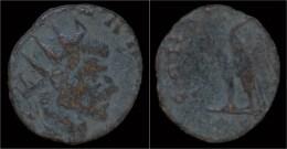 Divo Claudio AE Antoninianus Consecratio - 5. L'Anarchie Militaire (235 à 284)