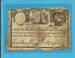 PORTUGAL - APÓLICE 1$200 - 1.200 RÉIS - 05.09.1805 ( 1828 ) - P 33 - D. MIGUEL I - WAR OF THE TWO BROTHERS - 2 Scans - Portugal