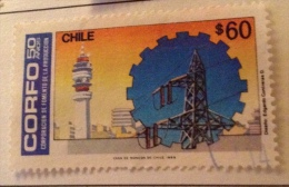 Chile - Used (o) # 102 - Chile