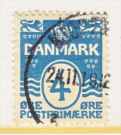 DENMARK   60 A   (o)  Wmk 113  Perf 14-14 1/2 - Used Stamps