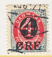 DENMARK   55    (o)  Wmk 113 - 1864-04 (Christian IX)