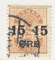 DENMARK   56   (o)  Wmk 113 - 1864-04 (Christian IX)