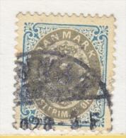 DENMARK   41   PERF 13   (o)  Wmk 112 - 1864-04 (Christian IX)