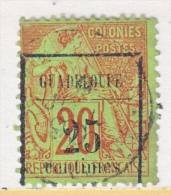 GUADALOUPE   5  (o) - Guadeloupe (1884-1947)