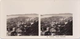 Stereofoto (photo Stéréo) 84 Norwegen -Bergen, Panorama- - Fotos Estereoscópicas