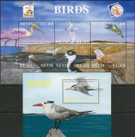 Nevis 2002. Michel #1775/80+Bl.#211 MNH/Luxe. Birds. (TS25) - Oiseaux