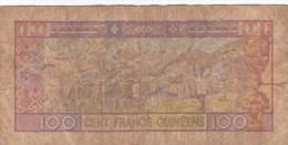 Billet De 100 Francs - Banque Centrale De La Guinée - Date :1 Er Mars 1960 - Guinea
