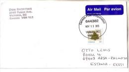 GOOD AUSTRALIA Postal Cover To ESTONIA  2013 - Good Stamped: Christmas - 2010-... Elizabeth II