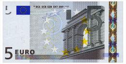 EUROPEAN UNION 5 EURO 2002 NETHERLANDS E008H6 Pick 8p Unc - 5 Euro