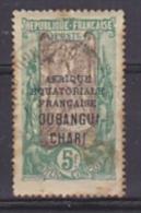 Ubangi Chari 1925 5Fr Used (brown, See Scan) (21952)