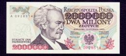 Poland 2000000 Zlotych 1993 UNC - Poland