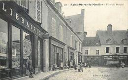 58 SAINT PIERRE LE MOUTIER  PLACE DU MARCHE LIBRIRIE COMMERCES DEVANTURES - Other Municipalities