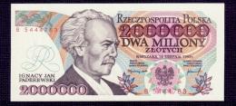 Poland 2000000 Zlotych 1992 B UNC - Pologne