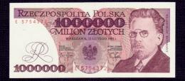Poland 1000000 Zlotych 1991 UNC - Poland