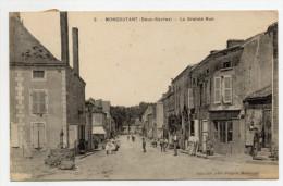 MONCOUTANT (79) - LA GRANDE RUE - Moncoutant