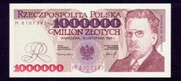Poland 1000000 Zlotych 1993 UNC - Pologne