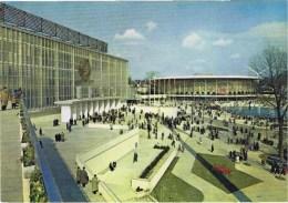 Cpm Exposition Universelle De Bruxelles 1958 Les Pavillons Urss Et Ses Usa - Tentoonstellingen