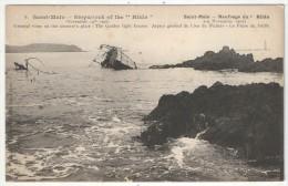 35 - SAINT-MALO - Naufrage Du HILDA (1905) - Aspect Général Du Lieu Du Sinistre - Le Phare Du Jardin - Saint Malo