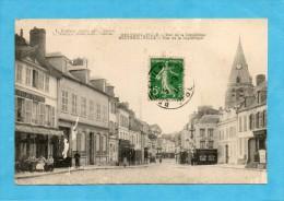 Breteuil-Ville ( Oise ). - Rue De La République. ( Mal Imprimée ). - Breteuil