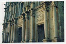 MACAU, Macao, China - Igreja Da Madre Deus, Entrada Principal, Jumbo Pc. 17.5 X 11.5 Cm.  ( 2 Scans ) - Chine