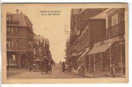 CPSM BERCK (Pas De Calais) - Rue Des Bains - Berck