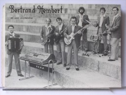 BERTRAND HEMBERT ET SON ORCHESTRE DE DANSE - CHAMPAGNE SUR SEINE (77) - Advertising