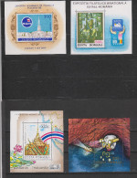 Yvert Blocs 227 - 229 - 230 - 233 ** Neuf Sans Charnière MNH - Blocks & Kleinbögen