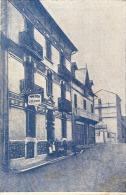 Carte De Visite Format Legerement Inf CPA - LOURDES Hotel Villa Bristol TTB - Cartes De Visite