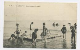 CPA: 76 - LE HAVRE -  MARÉE MONTANTE, LE RADEAU - Le Havre