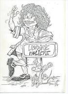 LIBRAIRIE MOLIERE      ( Déssin:  PTILUC  ) MONTPELLIER - Illustrateurs & Photographes
