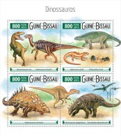GUINEA BISSAU 2015 - Dinosaurs. Official Issue - Prehistorisch
