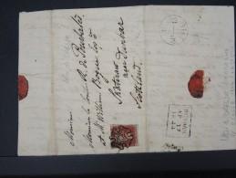GRANDE-BRETAGNE-Lettre( Avec Texte) De Dresde 6 Avril  Pour Dunbar 17 Avril 1844   A Voir  Rare   Lot P 5602 - 1840-1901 (Victoria)