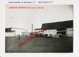OUDENAARDE-BECELAERE-??-JASTA-2x Photos Allemandes-Guerre 14-18-1 WK-BELGIQUE-Fliegerei-Aviation-Aircraft-Militaria- - Belgium