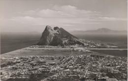AK Gibraltar From The Air Luftbild Fliegeraufnahme La Linea De La Concepcion - Gibraltar