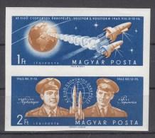 Hongarije, Nr 1863/1864B **, Michel = 20 € (B002) - Space