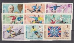 Hongarije, Nr 2242/2250B **, Michel = 22 € (B002) - 1966 – Inglaterra