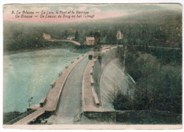 La Gileppe, Le Lion, Le Pont Et Le Barrage (pk20459) - Gileppe (Stuwdam)